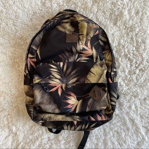 Da Kine Hawaii Hawaiian Floral Plant Backpack